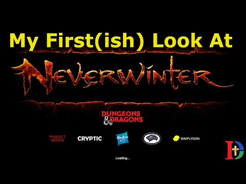 My First(ish) Look At Neverwinter In 2020