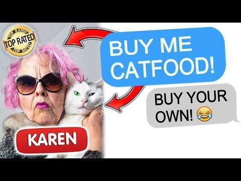 R/EntitledParents Entitled Mom DEMANDS I Buy Her GOURMET Cat Food!