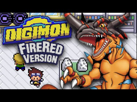 Digimon FireRed Version!?