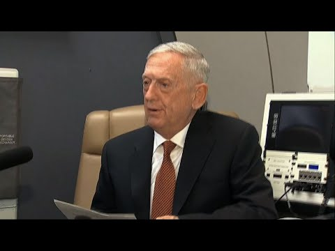 US Defense Secretary Jim Mattis says he plans to discuss the threat posed by North Korean missile and nuclear tests when he meets with Asian and Pacific defense officials in the Philippines. (Oct. 23)  Subscribe for more Breaking News: http://smarturl.it/AssociatedPress