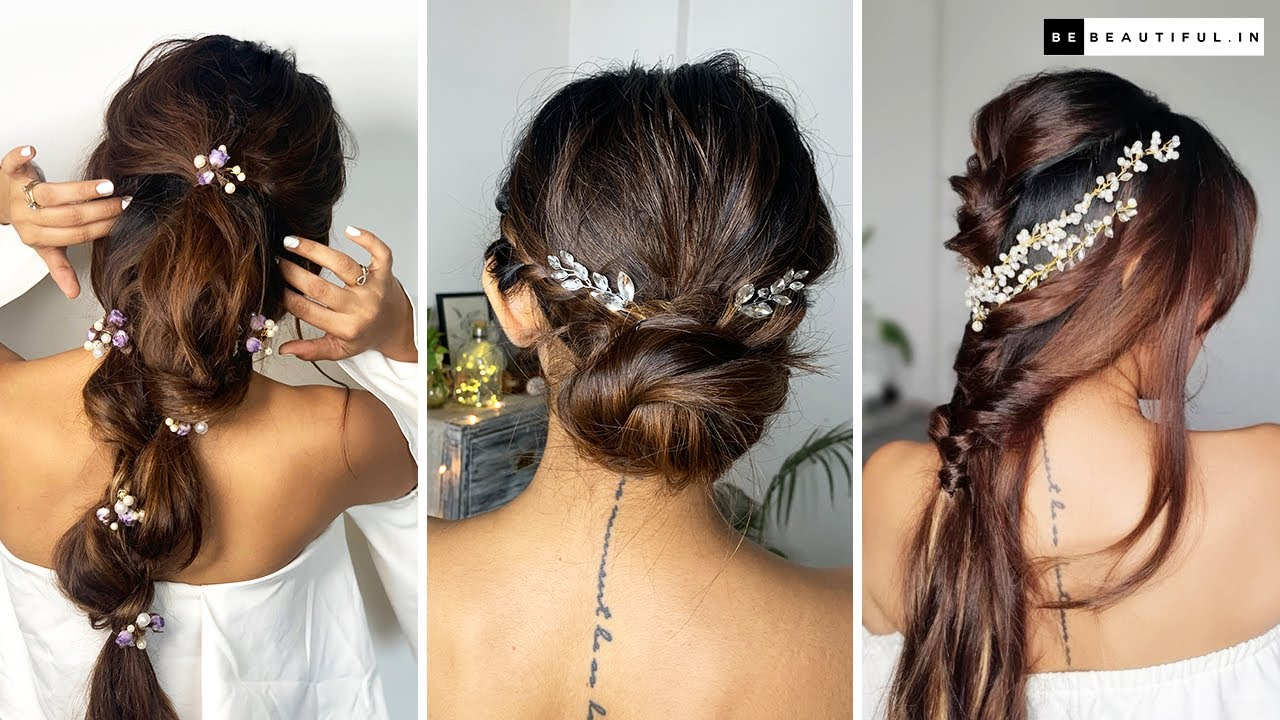 Hairstyles For Wedding | Step By Step Easy Bridal Hairstyle Tutorial | Be  Beautiful - NY Beauty Review