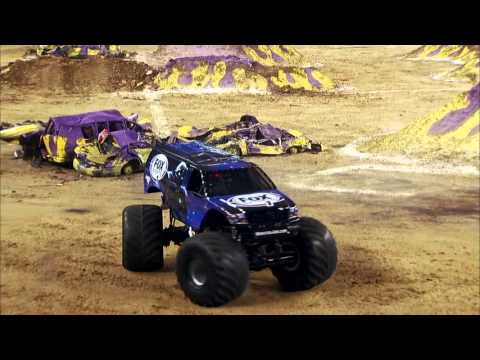 Monster Jam In AT&T Stadium - Arlington, TX 2014 - Full Show - Episode 11