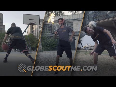 Globe Scout Me Freestyling 101: Basketball, Soccer & Tennis