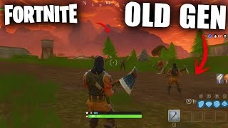 WHAT WOULD FORTNITE BE LIKE in OLD GEN? - Fortnite: Battle Royale PS3 and Xbox360 - Infuser