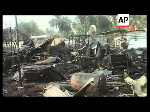 Rocket hits Baghdad's Green Zone, kills 4 Iraqis