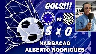 Gols Cruzeiro 5x0 Figueirense 12ª Rodada Campeonato Brasileiro 2014 - Narração Alberto Rodrigues