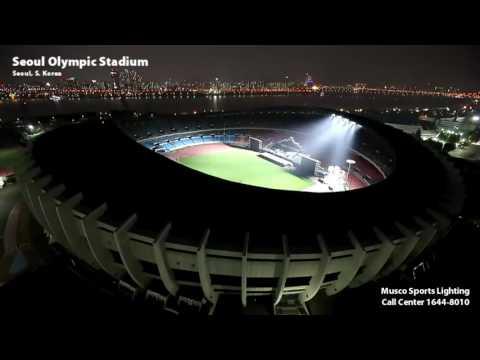 Musco Lighting – Seoul Olympic Stadium