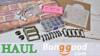 Haul materiales tienda online Bangood