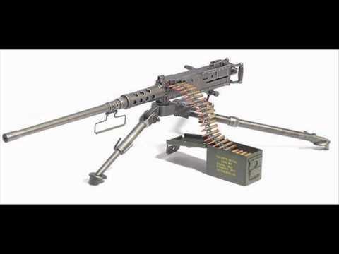 M2 Browning Machine Gun Sound Effects Youtube