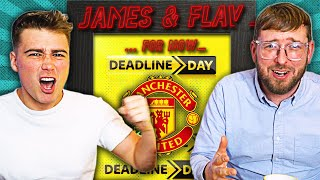CAN MAN UNITED SAVE THEIR TRANSFER WINDOW? [INCLUDES BONUS RANT] | James & Flav For Now Podcast #17