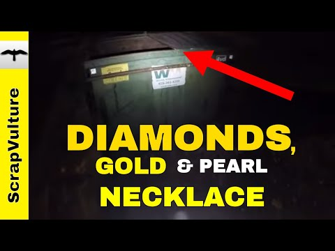 DUMPSTER DIVE!! When You Least Expect It!! DIAMONDS GOLD PEARLS & SILVER - Treasure & Scrap Metal
