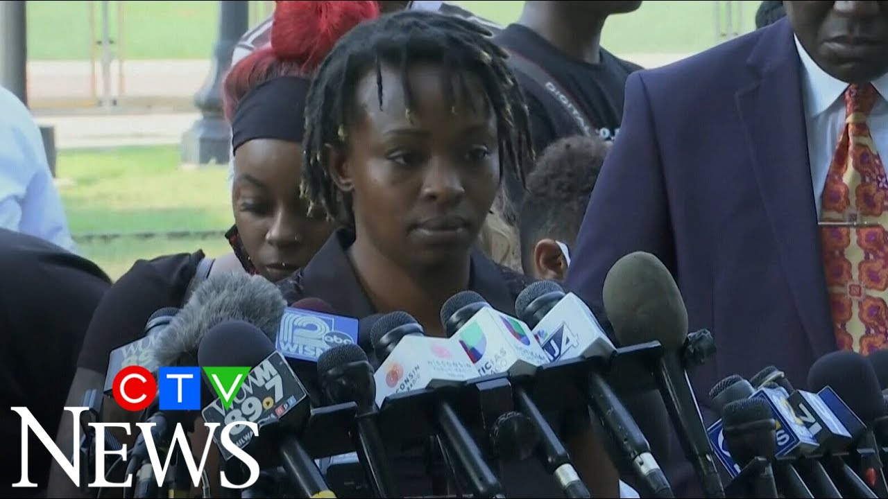 The sister of Jacob Blake makes a powerful statement on his shooting