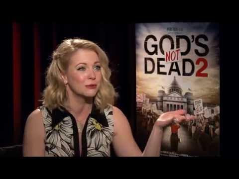 Melissa Joan Hart on GOD'S NOT DEAD 2 & juggling her career & family—Interview by Gaia Melikian.