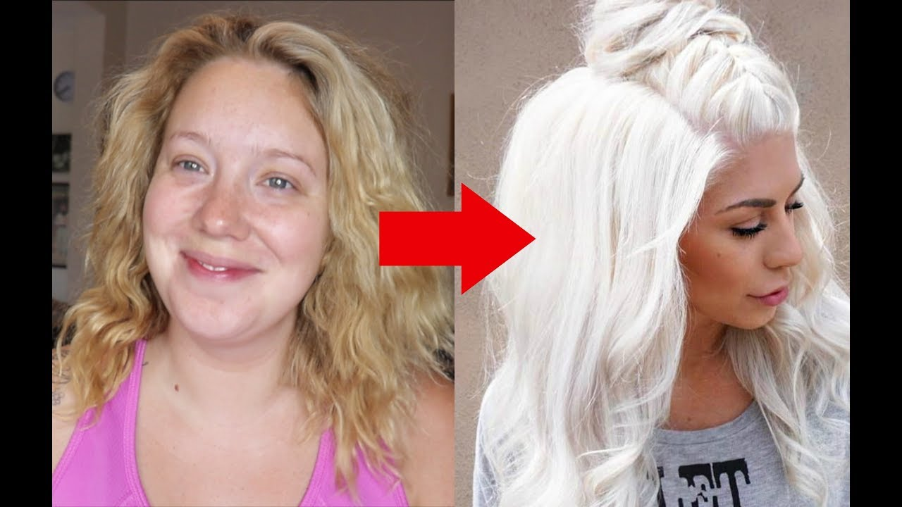 From Yellow to WHITE HAIR in under 10mins! No Bleach, No Damage!| Jade  Madden