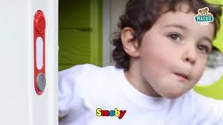 Házikó gyerekeknek My House Smoby csengővel és UV