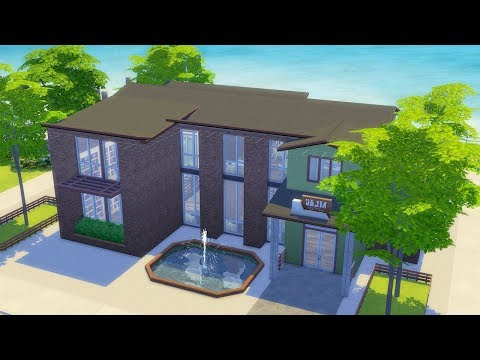 Building a Library in The Sims 4 (Streamed 1/9/19) thumbnail
