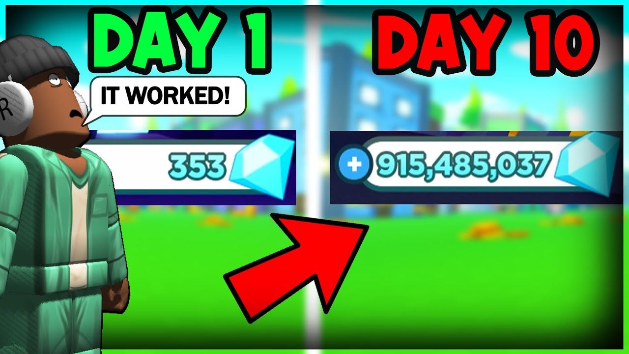 🤑How To make 1 BILLION GEMS in 10 DAYS in Pet Simulator X (Roblox)
