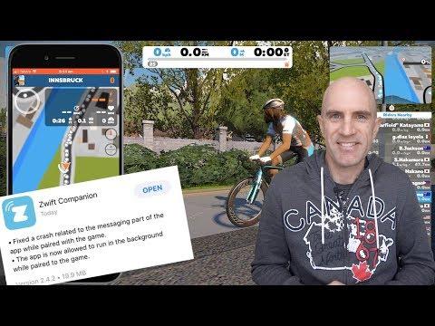Swift Zwift Tip: Zwift Companion App Multitasking Update (IOS)