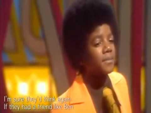Michael Jackson - Ben 1972 HQ Lyrics Sub