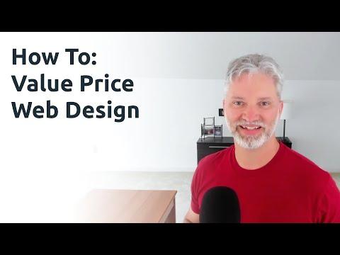How To Value Price Web Design