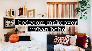 Extreme BOHO Bedroom Makeover / Transformation + Room Tour 2019 (Simple + Aesthetic Boho Room Decor)