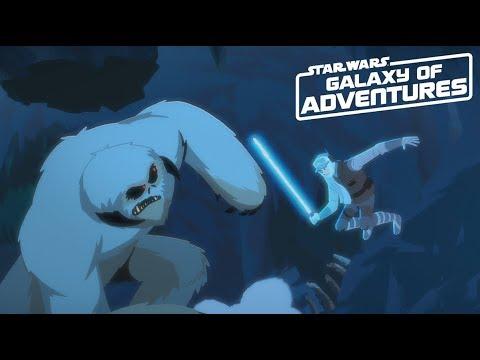 Galaxy of Adventures   Luke vs. the Wampa – Cavern Escape