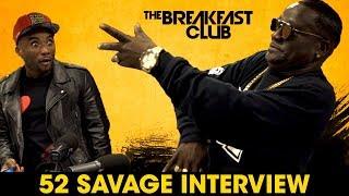 52 Savage Shows Us The 'Grand-Dab', Talks New Teeth, 'Pressure' + More