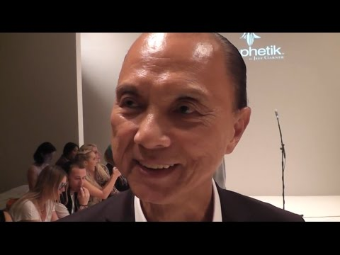 MarkMeets Jimmy Choo at SS17 London fashion week.