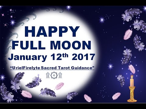 HAPPY FULL MOON JANUARY 12th...
