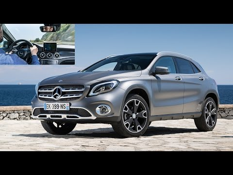 2017 mercedes gla restyl essai la belle toile. Black Bedroom Furniture Sets. Home Design Ideas