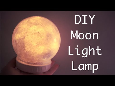 DIY Moon Light Lamp