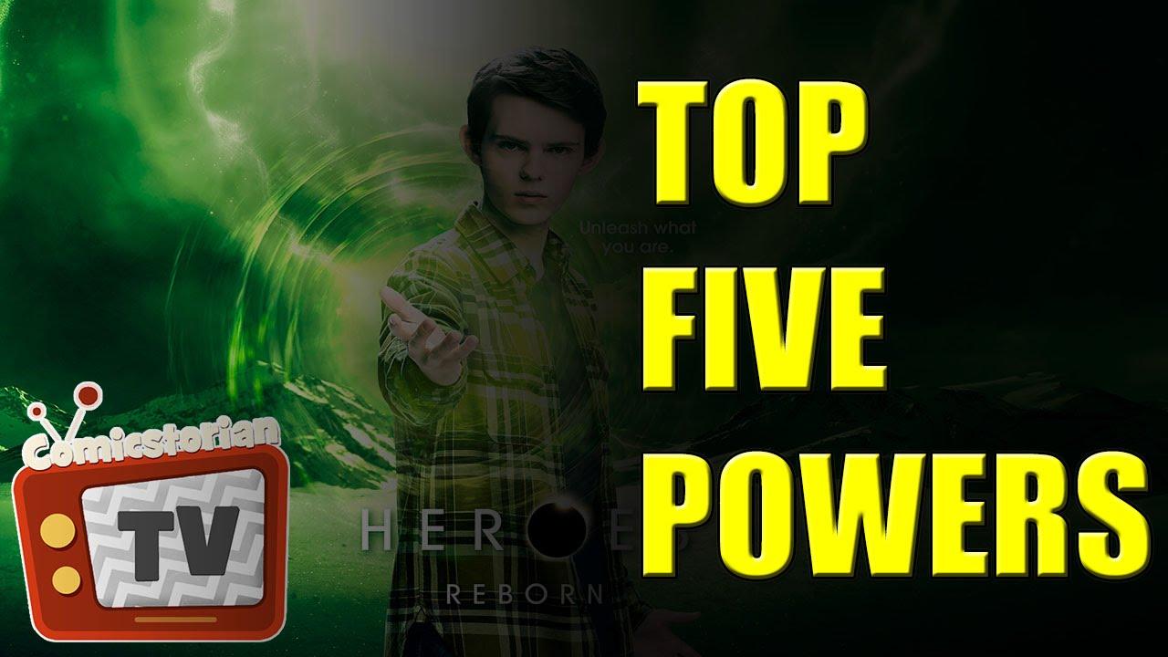 Download Top 5 New Heroes Reborn Powers