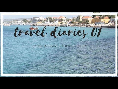 TRAVEL DIARIES 01 (ARUBA, BONAIRE & TURKS & CAICOS) || KeyReadThat