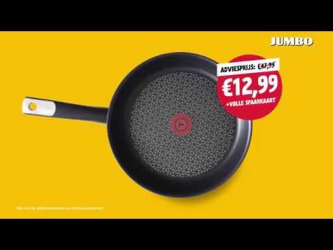 Verbazingwekkend Jumbo pannen spaaractie - YouTube RE-94