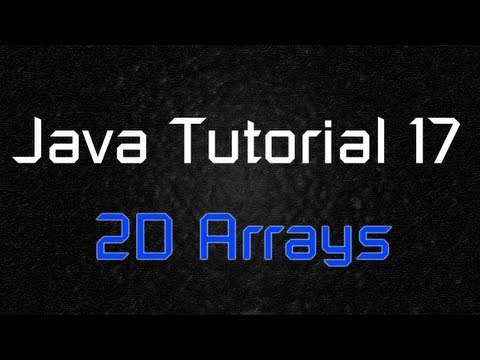 java-tutorial-17---two-dimensional-array-(multidimensional)