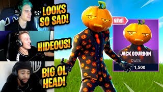 STREAMERS REACT TO *NEW* JACK GOURDON SKIN - Fortnite Best Moments & Fortnite Funny Moments #192