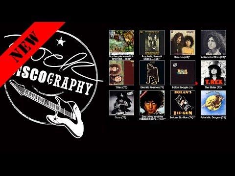 T. Rex (Discography 1968-1996)
