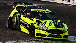 Valentino Rossi Ford Fiesta WRC - 2015 Monza Rally Show [HD]