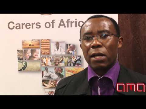Bright Chinganya from Carers of AFrica (Africa media australia)
