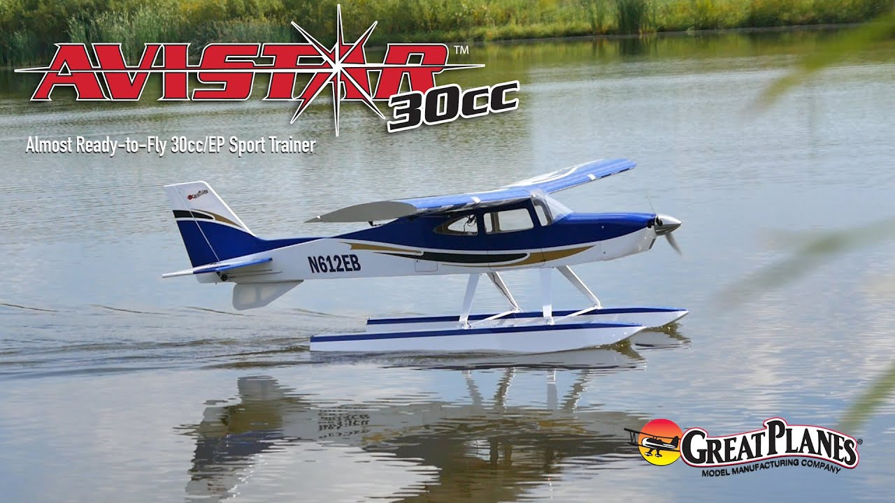 Great Planes Avistar 30cc Almost Ready-to-Fly 30cc/EP Sport Trainer