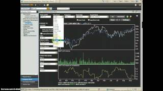 Thomson One charts