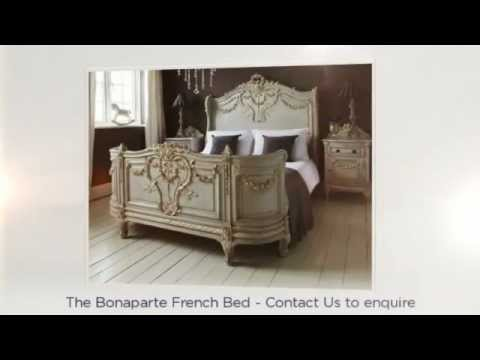 french beds upholstered beds from the french bedroom company youtube. Black Bedroom Furniture Sets. Home Design Ideas