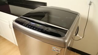 A modern washer to brighten up your boring laundry room