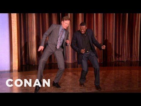 Chris Tucker Busts A Move With Conan - CONAN on TBS