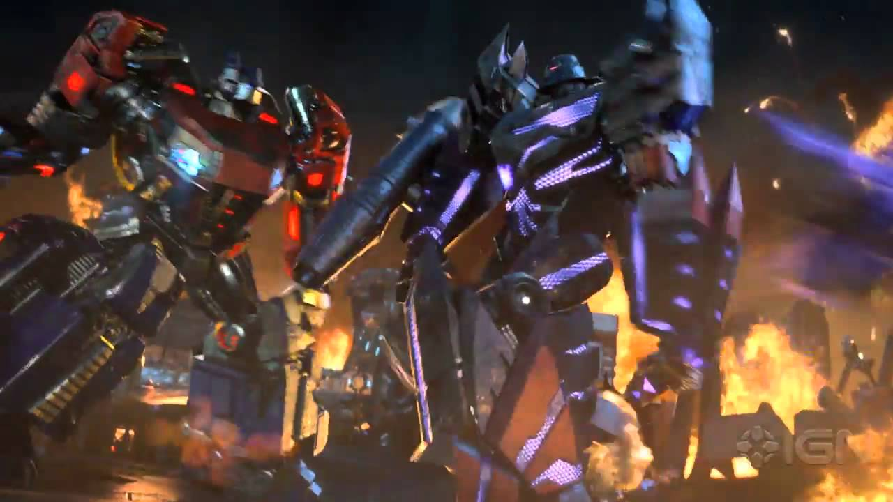 transformers fall of cybertron cinematic trailer e3 2012 youtube