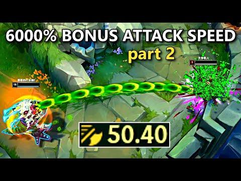 30.00+ ATTACK SPEED MONTAGE 2! (Draven, Kog'Maw, Vayne, Xayah & More!)