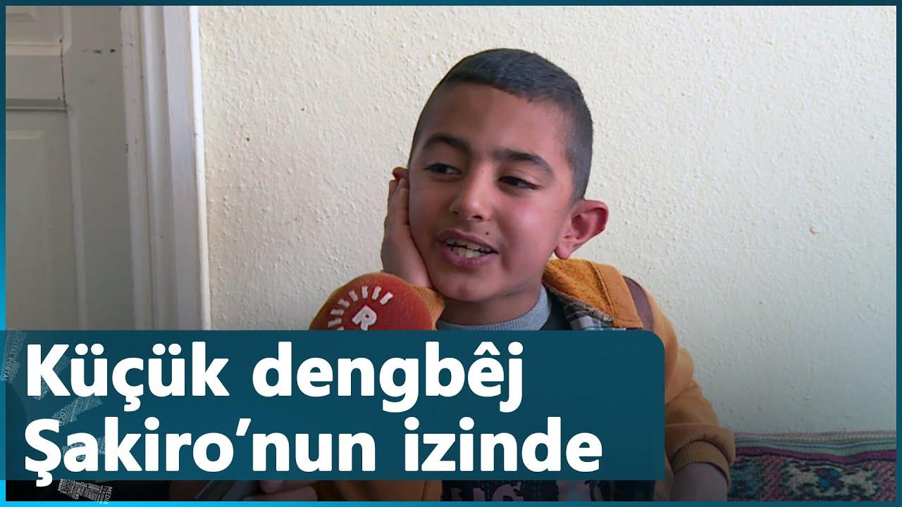 9 yaşındaki dengbêj Ali Osman, Şakiro'nun izinde ilerliyor