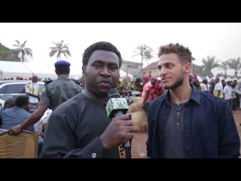 Igbo German guy live with Mazi in Enugu