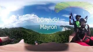 Mayron 360° na O.V.N.I. Parapente, Praia Brava-Floripa, Brasil.