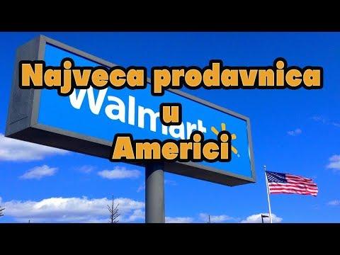 Najveca prodavnica u Americi  Walmart i Sams Club,zivot u Americi